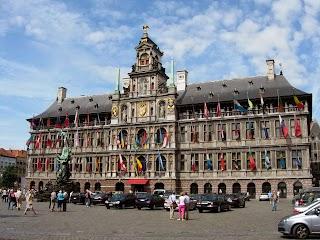 Hôtel de ville à Anvers