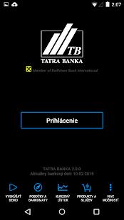 Tatra banka - screenshot thumbnail