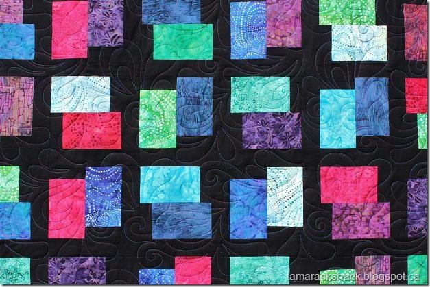 Tamarack Shack Batik Cobblestone Quilt