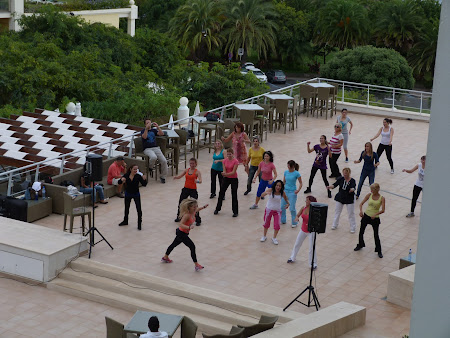 Cazare Funchal: aerobic la Hotel Melia Madeira Mare