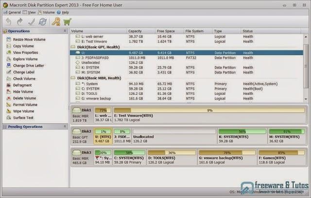 Macrorit Disk Partition Expert Home Edition : un nouveau logiciel gratuit de partitionnement de disque