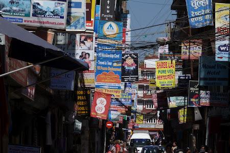 Imagini Kathmandu: Thamel ziua