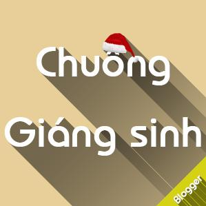 Tạo giàn chuông Giáng sinh trang trí cho Blogspot