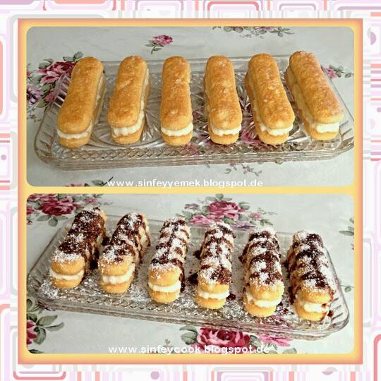 Sweety Cook Mini Loffelbiskuit Kuchen