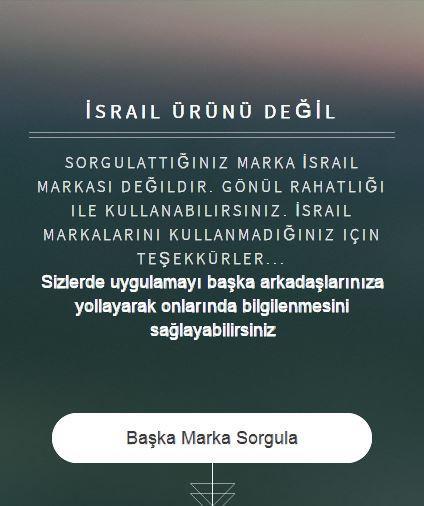 İsrail Ürünleri - screenshot