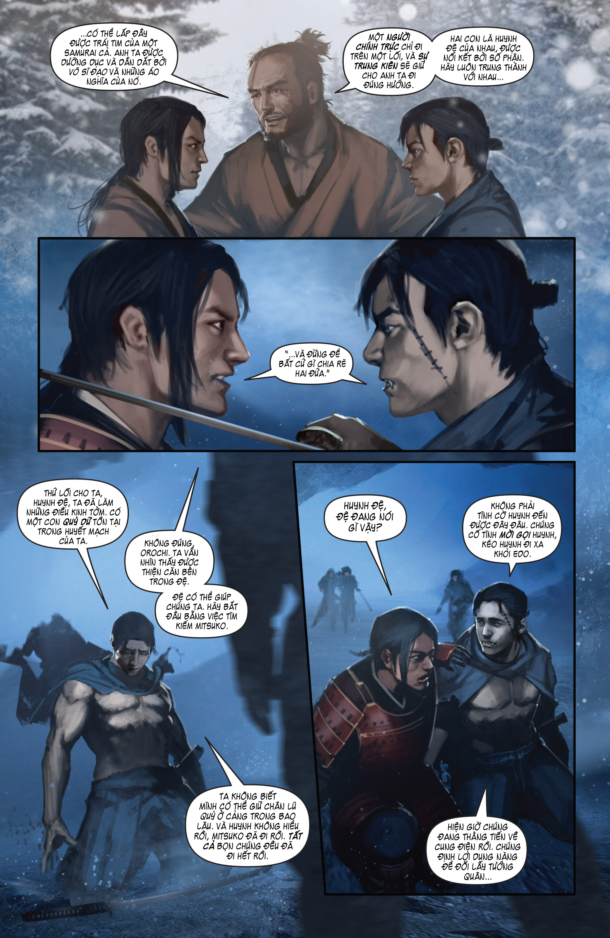 BUSHIDO - THE WAY OF THE WARRIOR chapter 4 trang 23