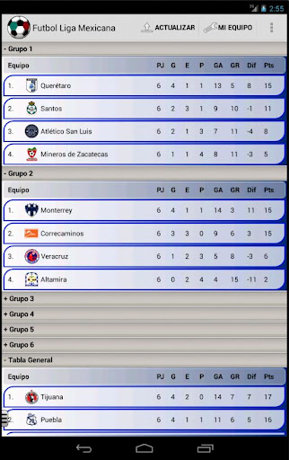 Soccer Mexican League 7.1.0 screenshots 19