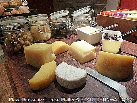 PARKROYAL HOTEL BEACH ROAD PLAZA BRASSERIE cheese platter