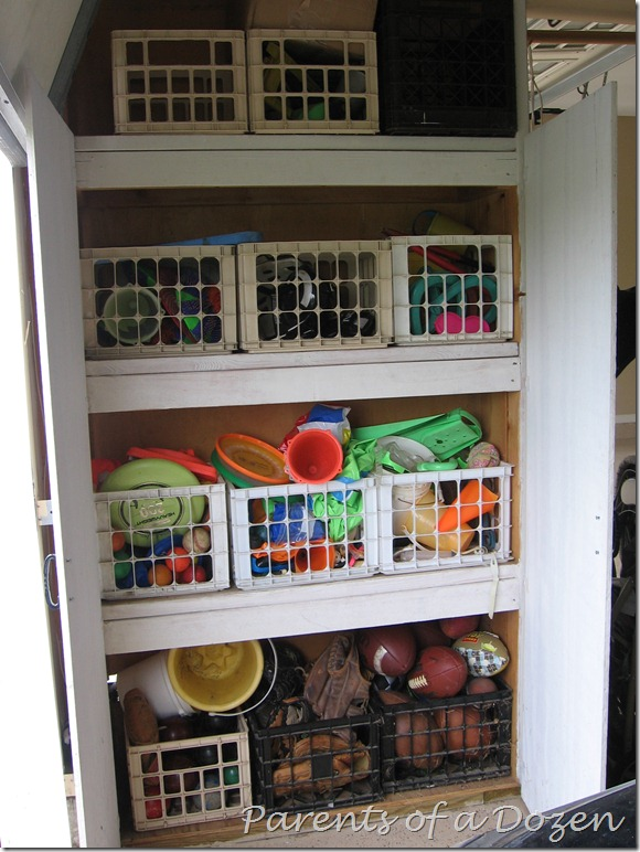 Parents Of A Dozen How We Organize And Use Our Garage