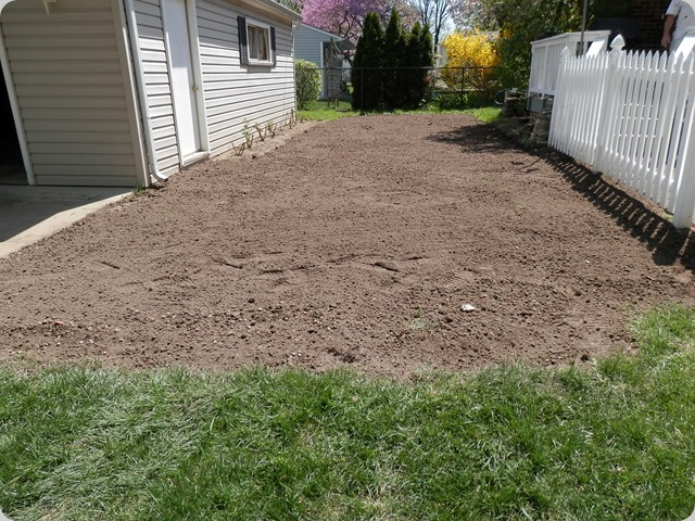 New Topsoil applied.