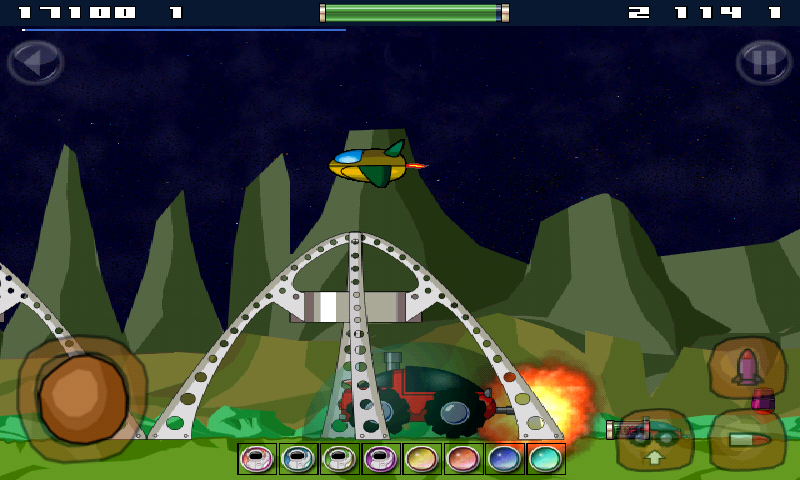 Space Rover Free - screenshot