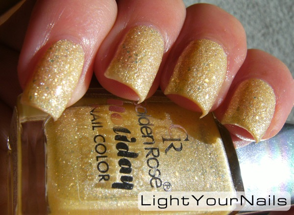 Golden Rose Holiday #74 + top coat