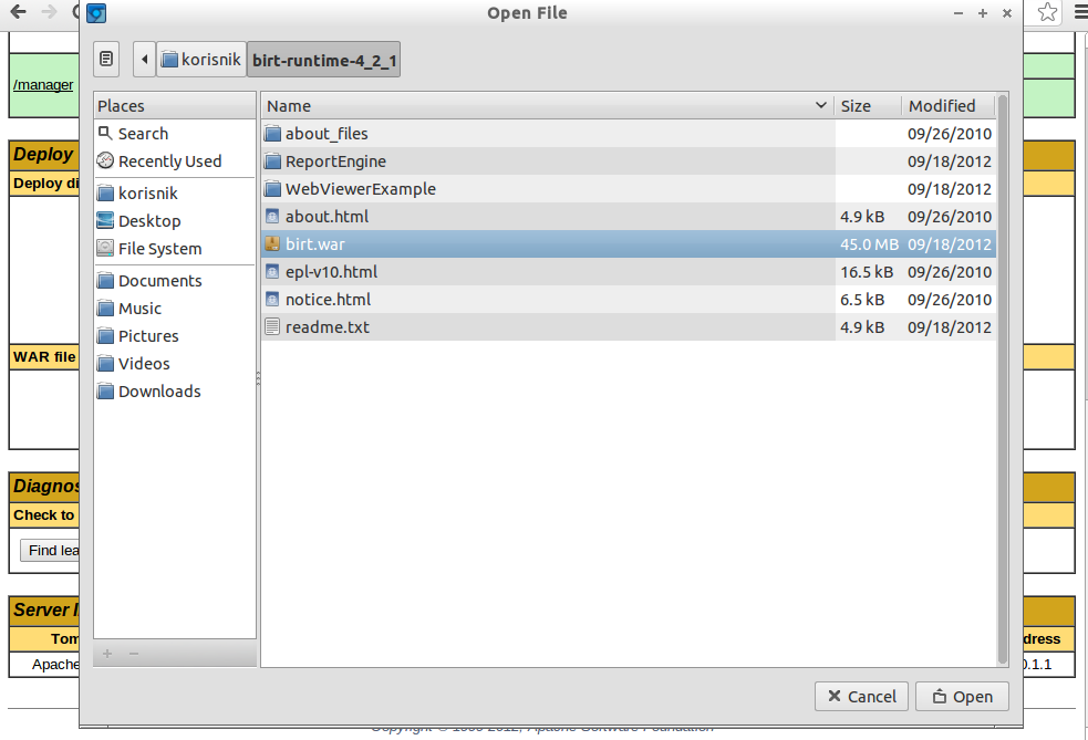 Installing Birt Viewer Server In Addition To Birt Study Designer 14
