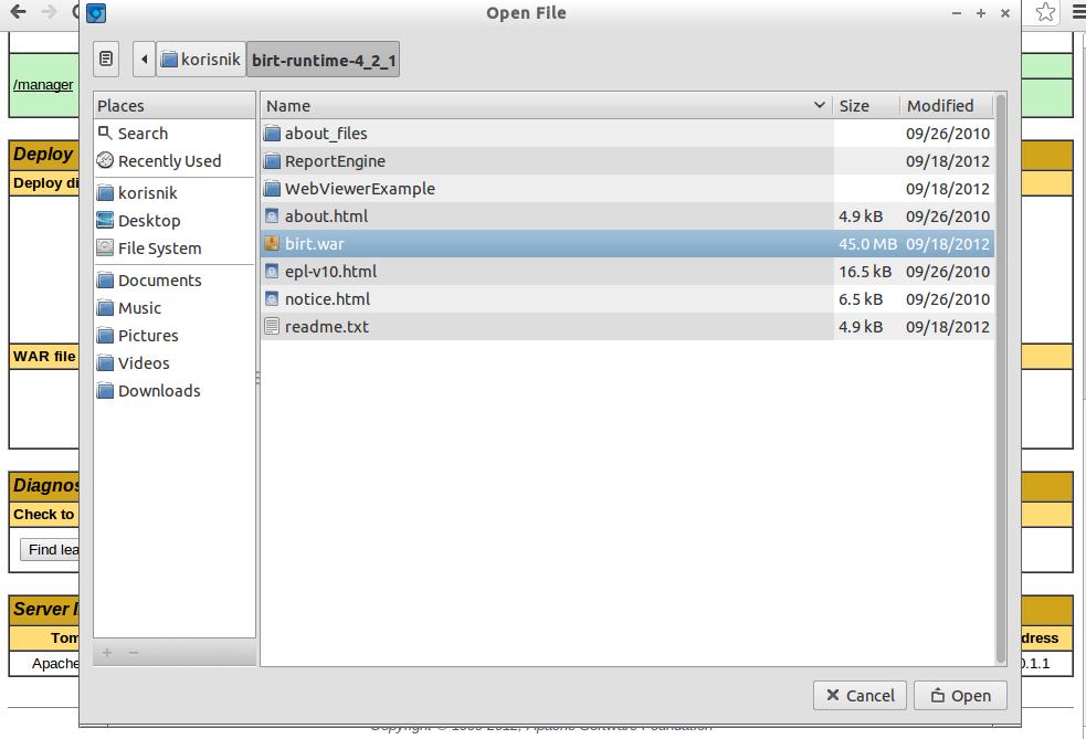 Installing Birt Viewer Server In Addition To Birt Study Designer 18