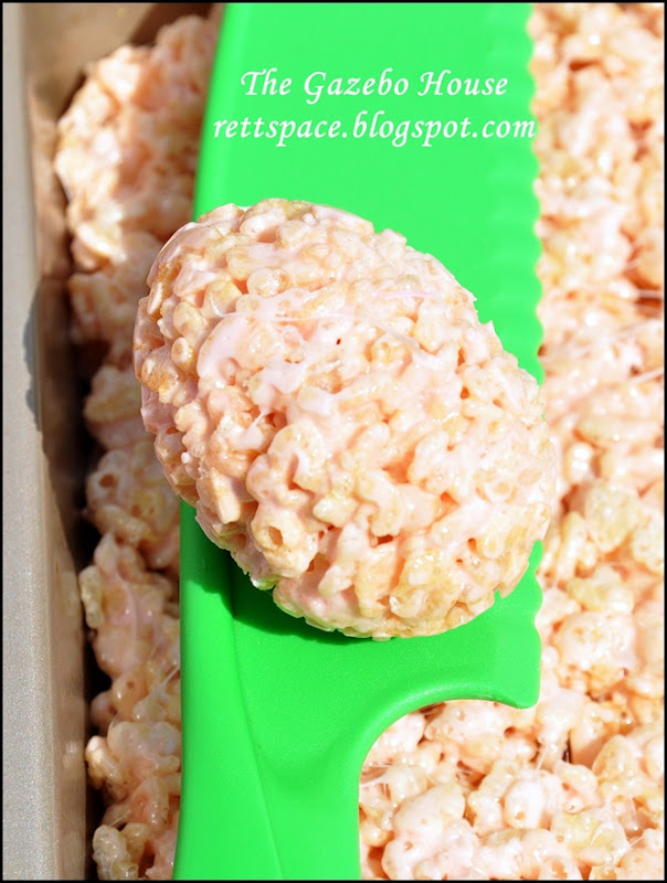 Easter Rice Krispie Treats 005