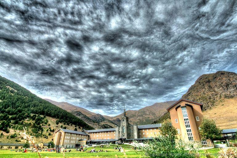 Nuria valley sanctuary pyrenees