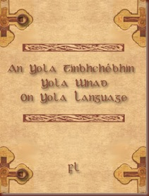 On Yola Language Cover