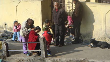 Imagini India: activitati stradale Darjeeling