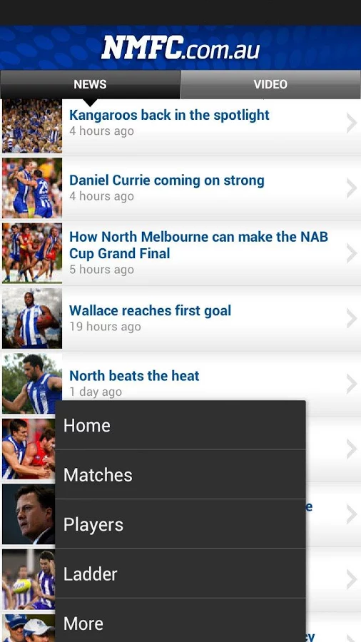 NMFC - screenshot