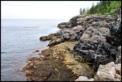 02c - Schooner Head Overlook - view of rocky coast