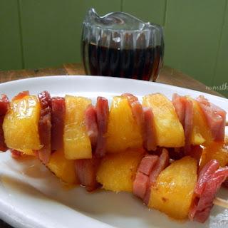 Maple, Ham, & Pineapple Kabobs