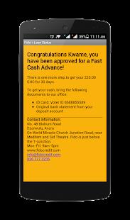 Fido Money Lending- screenshot thumbnail