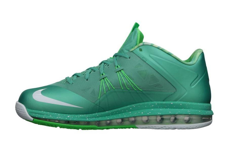 pretty nice 705d6 bab81 ... Release Reminder Nike Air Max LeBron X Low 8220Easter8221 ...