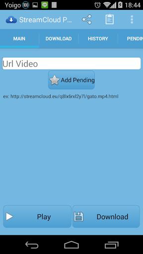 StreamCloud Spieler no ads