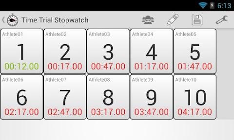 Time Trial Stopwatch Freeのおすすめ画像4