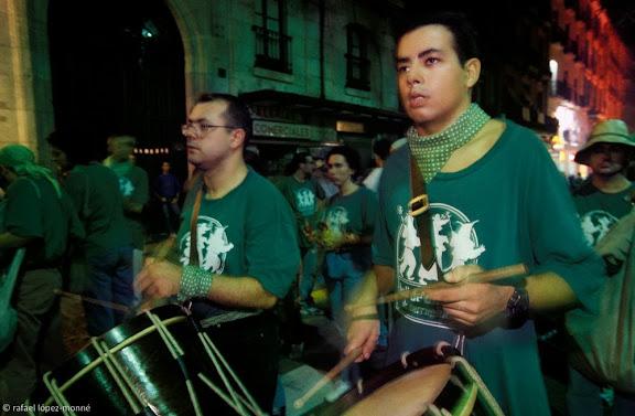 Ball de Diables de Tarragona. Correfoc. Festes de Santa Tecla. Tarragona, Tarragonès, Tarragona 1997