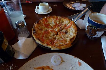 Pizza italiana in Bhutan