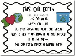 Earth day poem and Spring Break