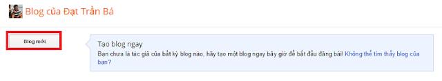 Cách tạo trang blog bằng Blogspot