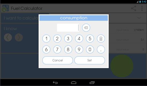 Fuel Calculator  screenshots 11