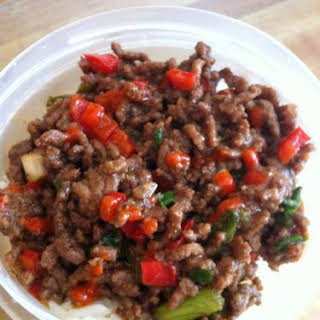Korean Beef (Savory Ground Beef A La Brown Sugar).