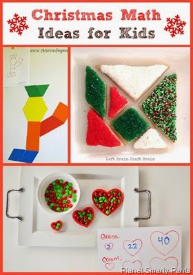 Christmas Hands-on Math Ideas for Kids Age 5+