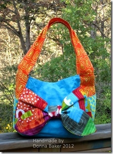 stitch in color bow purse