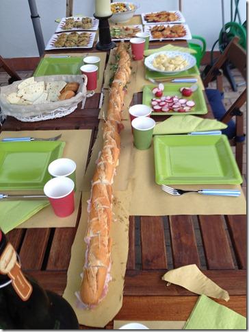 Un panino lungo due metri