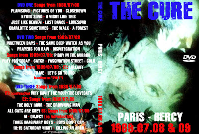 The Cure - 1989-07-08/09 - Paris, FR (3xDVDfull aud-shot