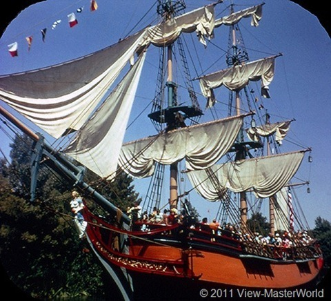 View-Master Frontierland (A176), Scene 1-3: The Sailing Ship Columbia