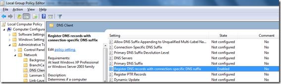 Windows 7 & Reverse Lookup DNS Registration [Update] | ADdict