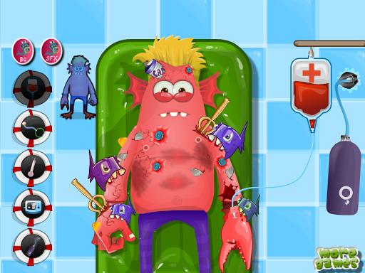怪物治疗女孩子的游戏