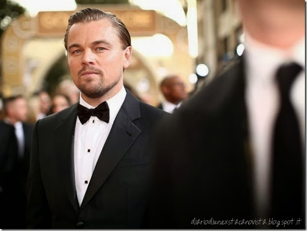 Leonardo Di Caprio at Golden Globe 2014
