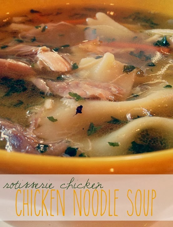 Rotisserie Chicken Chicken Noodle Soup Shan Made