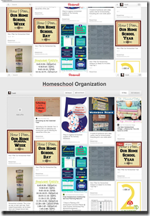 Homeschool Organization on Pinterest