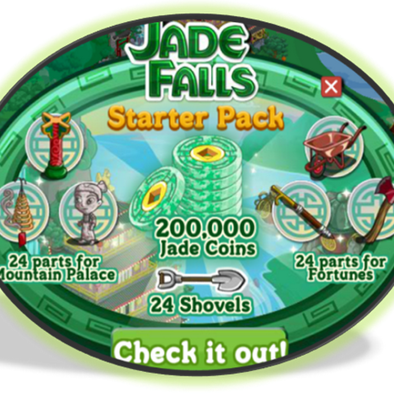 Jade Falls: Starter Packs