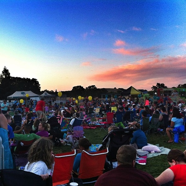movie in the park rocklin