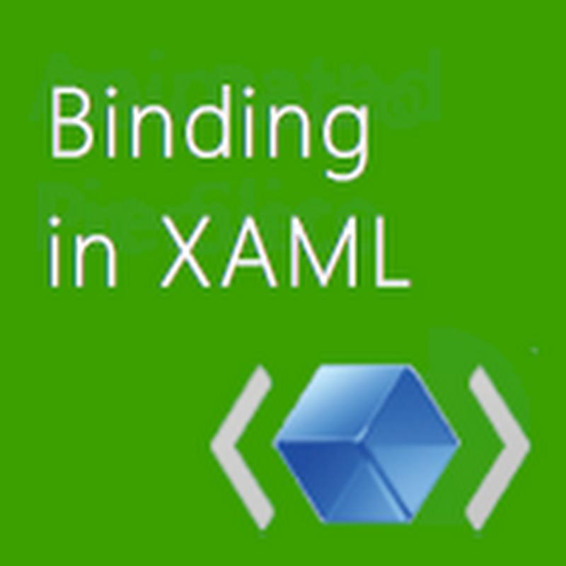 Jerry Nixon on Windows: XAML Binding Basics 101