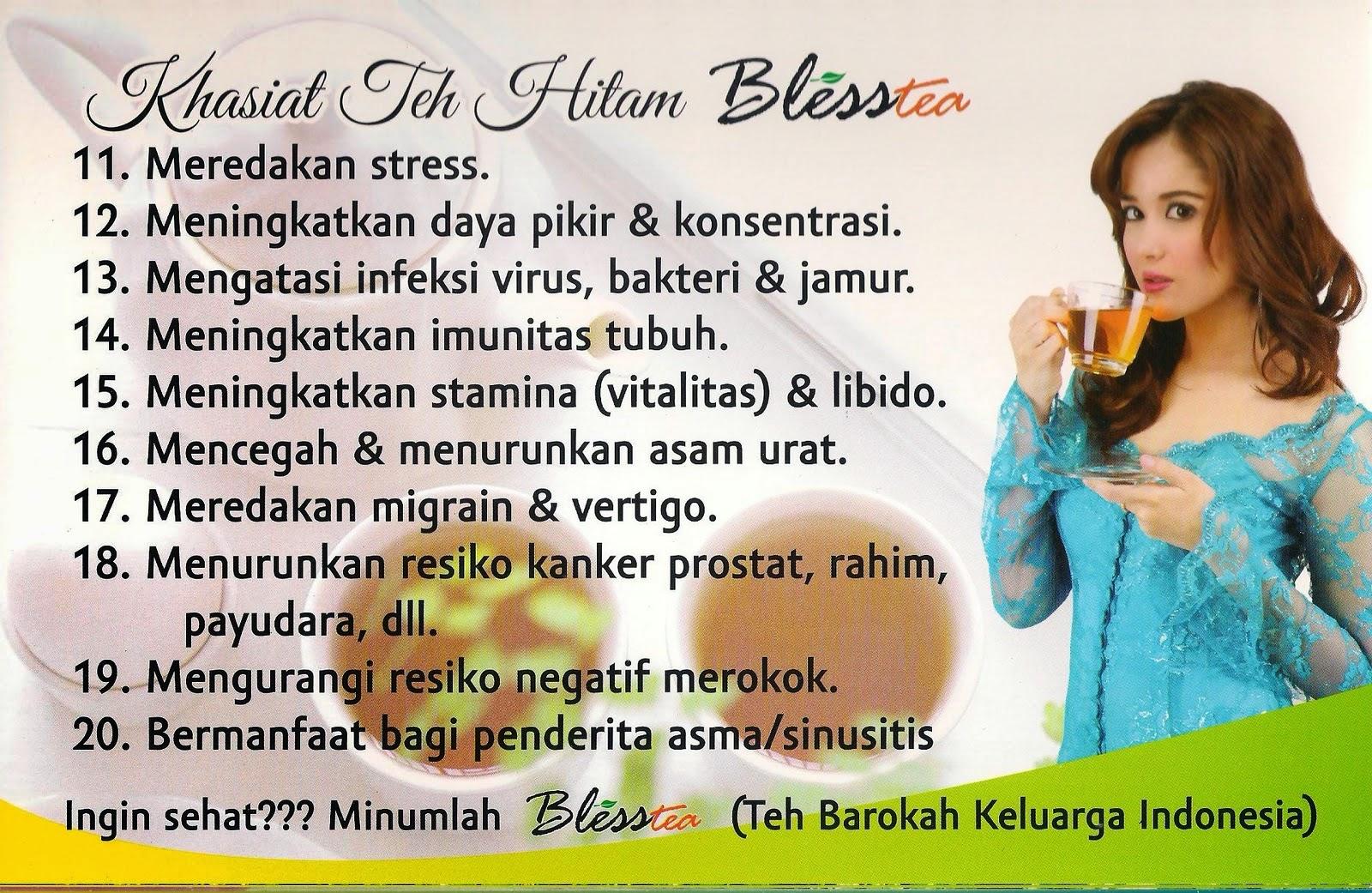 Solusi Sehat dengan Teh Hitam BlessTea