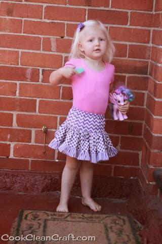 Tiered Gathered Skirt (3)